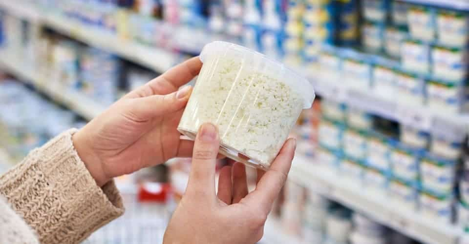 buying cottage cheese