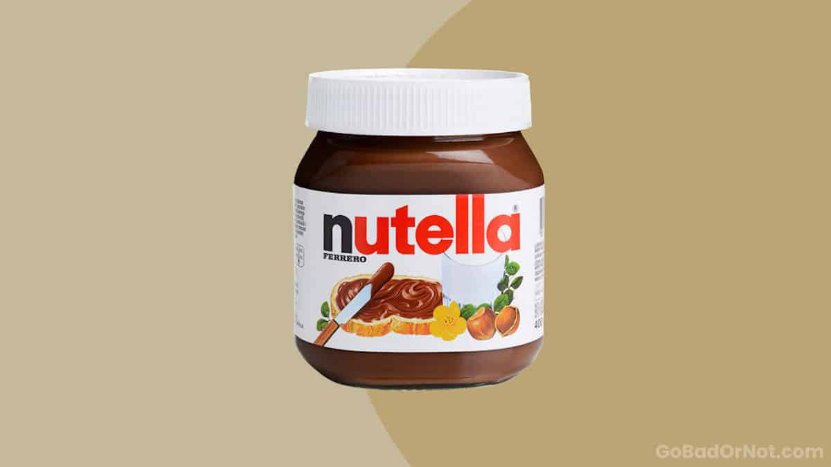 Does Nutella Go Bad