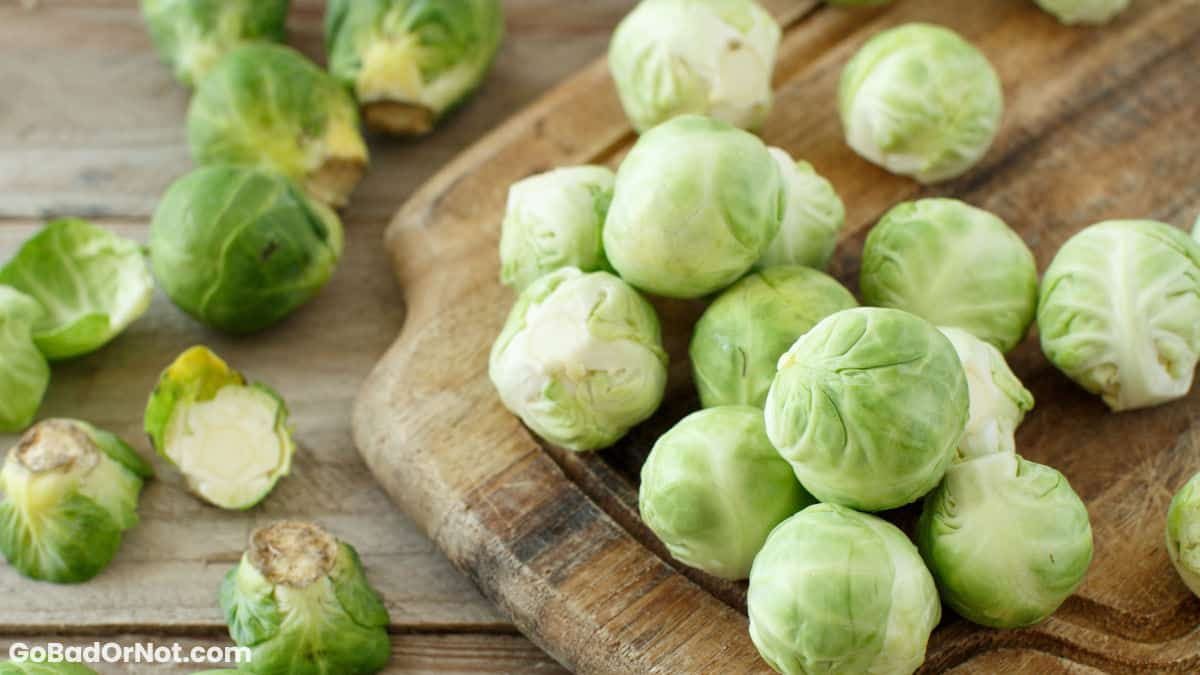 Do Brussel Sprouts Go Bad