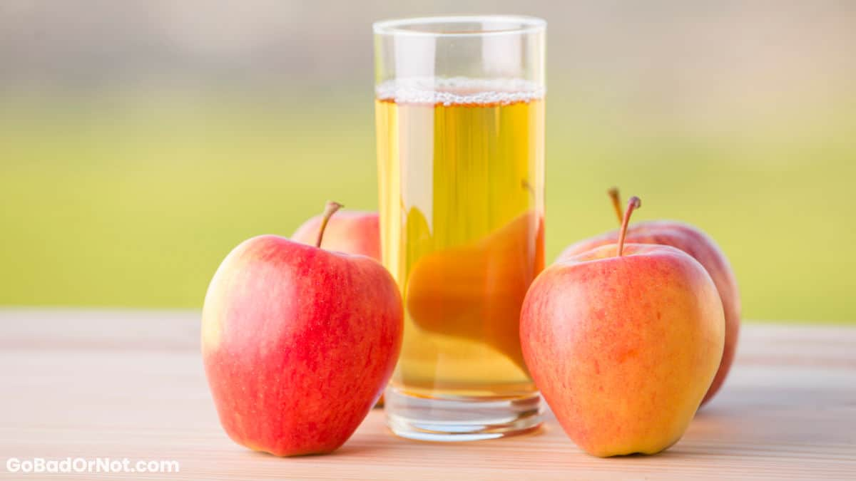 Does Apple Juice Go Bad