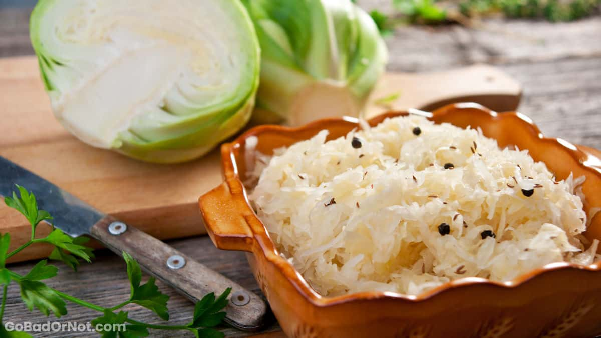 Does Sauerkraut Go Bad