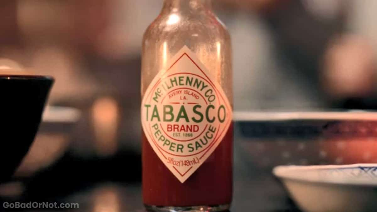 Does Tabasco Sauce Go Bad