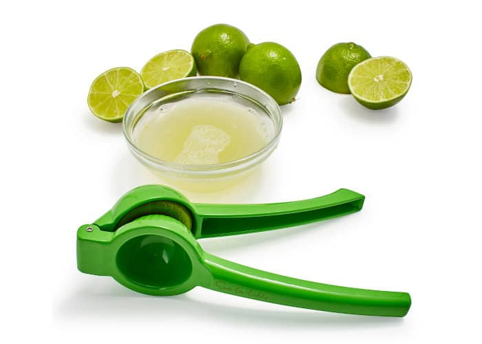 bowl of lime juice