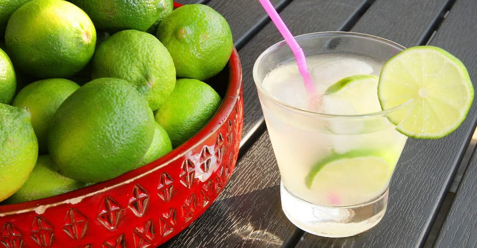 limeade next to limes
